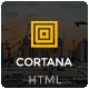 Cortana - Construction HTML5 Template - ThemeForest Item for Sale