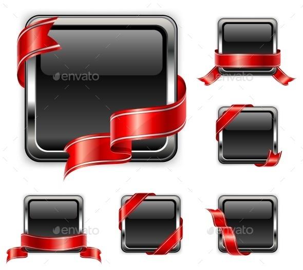 Black Square - Miscellaneous Vectors
