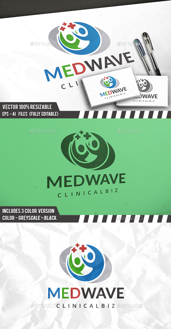 Medic Clinic Logo - Humans Logo Templates