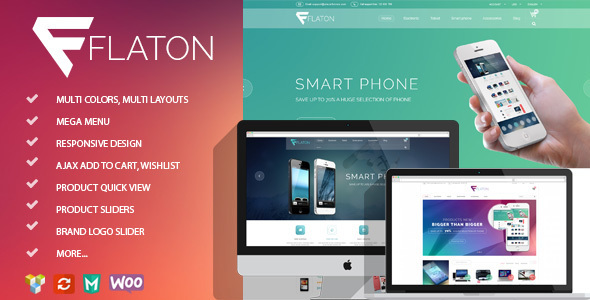 Flaton – WooCommerce Responsive Digital Theme