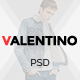 Valentino - Multipurpose eCommerce PSD Template - ThemeForest Item for Sale