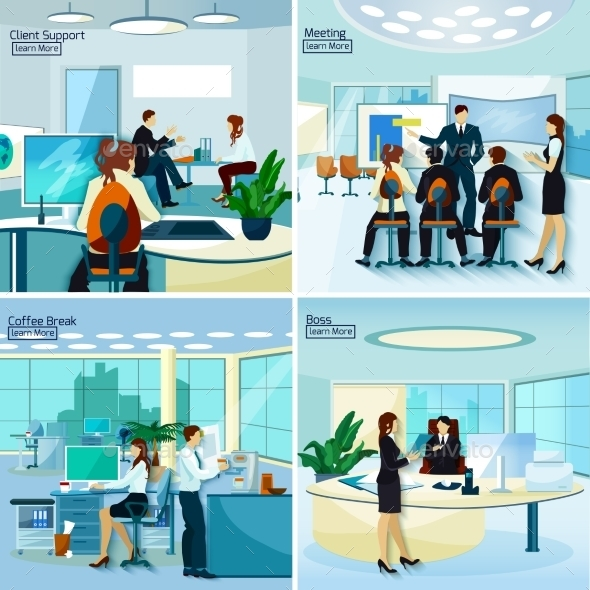 Office People 2X2 Design Concept   - Concepts Business