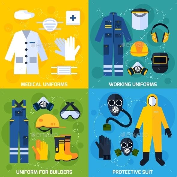 Protective Uniform Equipment - Abstract Conceptual