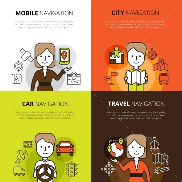 Navigation Design Concept - Communications Technology