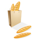 Shopping bag with bread - GraphicRiver Item for Sale