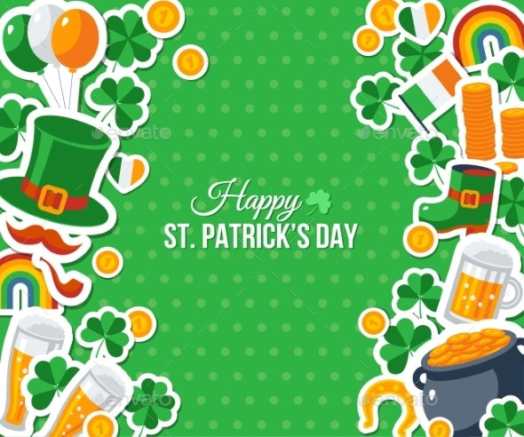 Patricks Day Greeting Card - Miscellaneous Seasons/Holidays