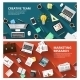 Marketing Research And Creative Team Concept - GraphicRiver Item for Sale