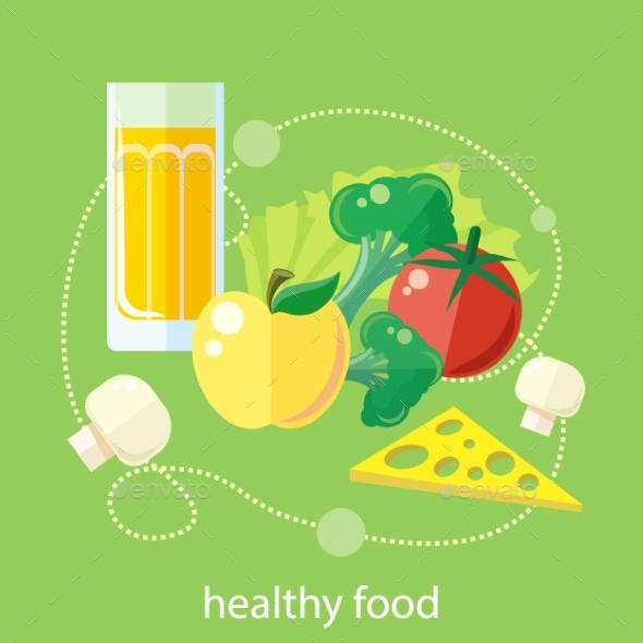 Organic Health Food - Food Objects