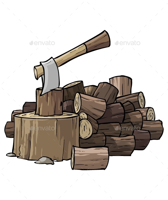 Pile of Woods  - Objects Vectors