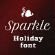 Sparkle – Holiday Font - VideoHive Item for Sale