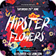 Hipster Flowers Flyer - GraphicRiver Item for Sale