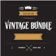 Vintage Font Bundle - GraphicRiver Item for Sale
