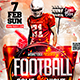 Football Flyer Template - GraphicRiver Item for Sale