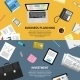 Modern Flat Design Concepts - GraphicRiver Item for Sale