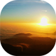 Sunset Panorama over the Clouds - VideoHive Item for Sale