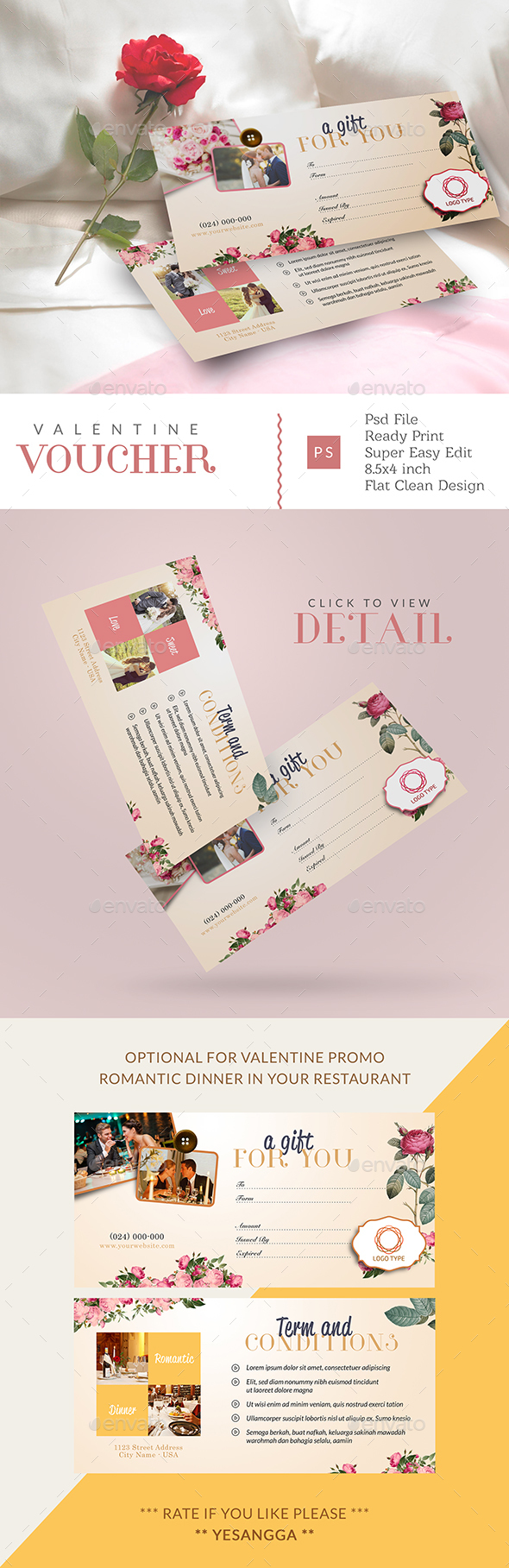 Valentine Gift Card - Loyalty Cards Cards & Invites