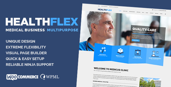 HEALTHFLEX – Medical & Health Multipurpose Theme