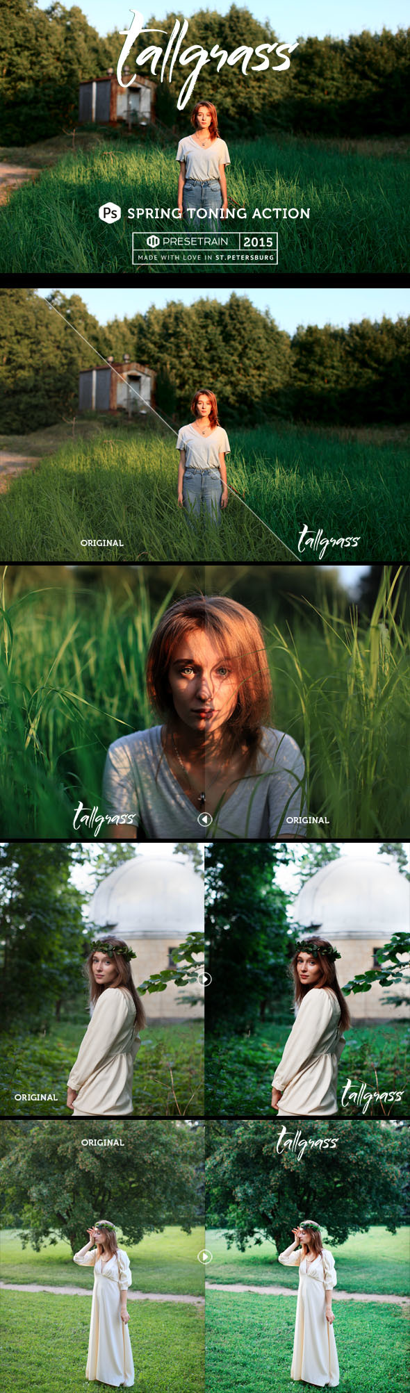 Tallgrass Photoshop Action - Photo Effects Actions