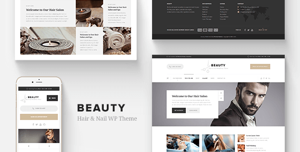 Beauty - Hair Salon, Nail, Spa, Fashion WP Theme