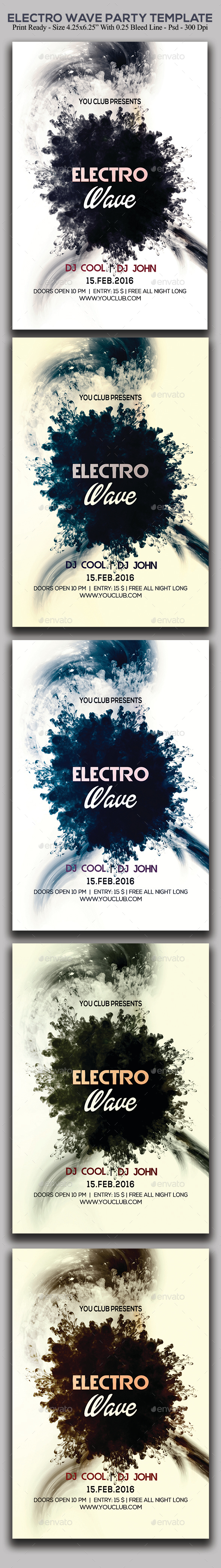 Electro Wave Party - Clubs & Parties Events