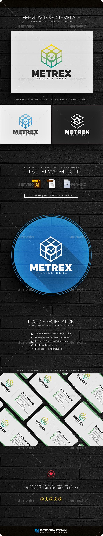 Metrex Logo - Objects Logo Templates