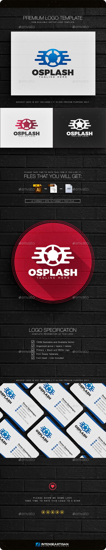 Osplash Logo - Letters Logo Templates