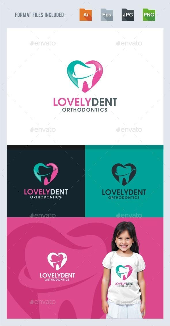 Lovely Dental Logo Template - Symbols Logo Templates