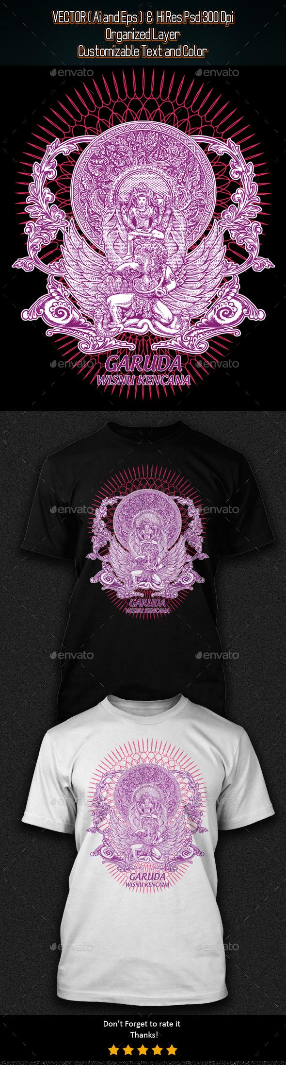 Garuda Wisnu Kencana - Grunge Designs