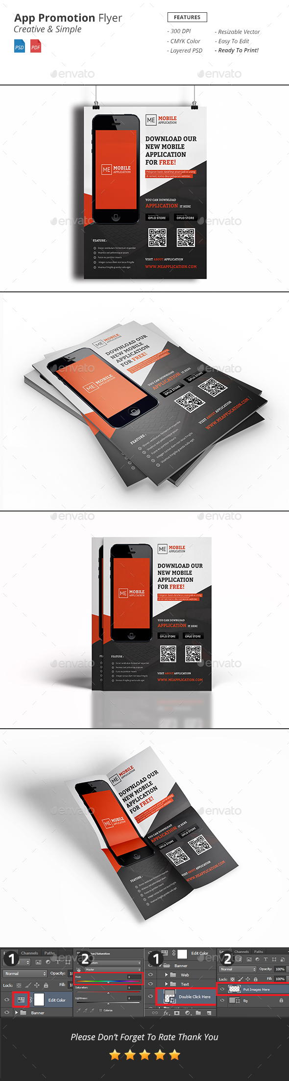 App Promotion Flyer - Corporate Flyers