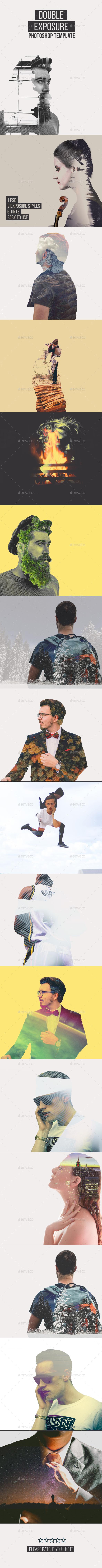 Double Exposure Template - Artistic Photo Templates
