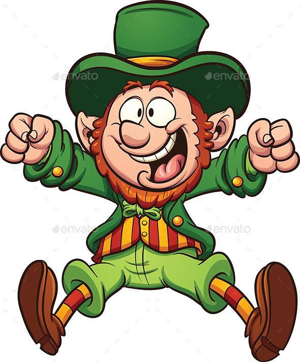 Cartoon Leprechaun - Miscellaneous Characters
