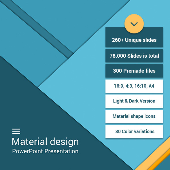 Material business powerpoint by site2max graphicriver material business powerpoint business powerpoint templates toneelgroepblik Gallery