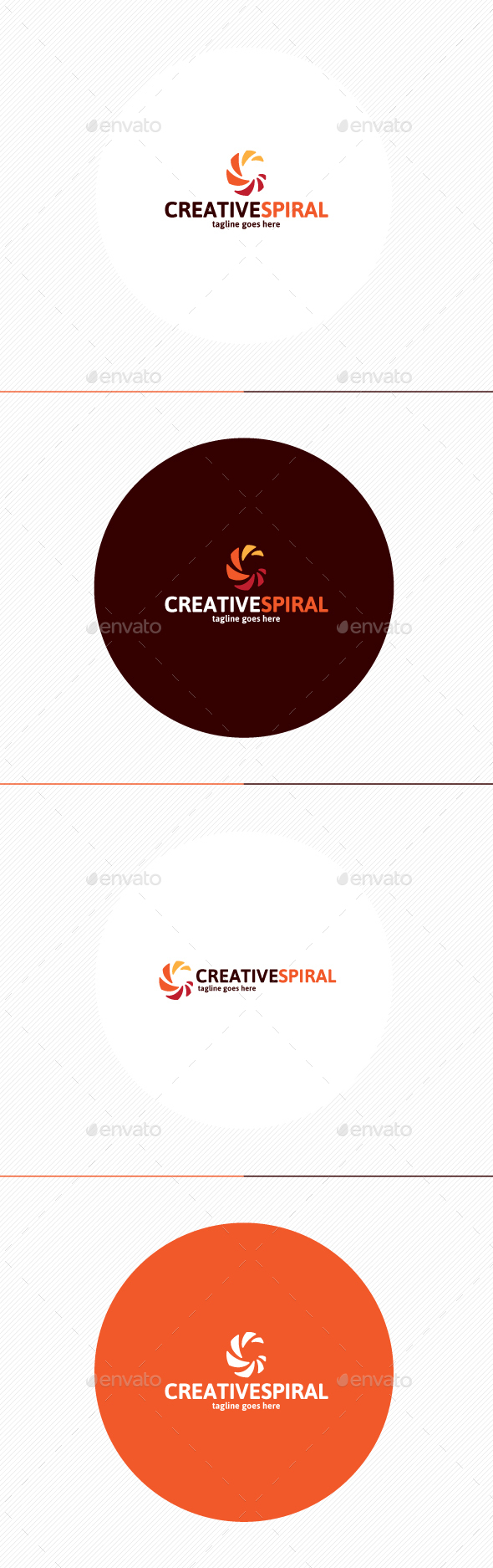 Creative Spiral Logo • Letter C - Letters Logo Templates