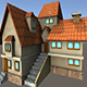 House Model 3 - (fablesalive game asset) - 3DOcean Item for Sale