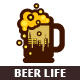 Beer Life Logo - GraphicRiver Item for Sale