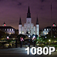 New Orleans Jackson Square at Night - VideoHive Item for Sale