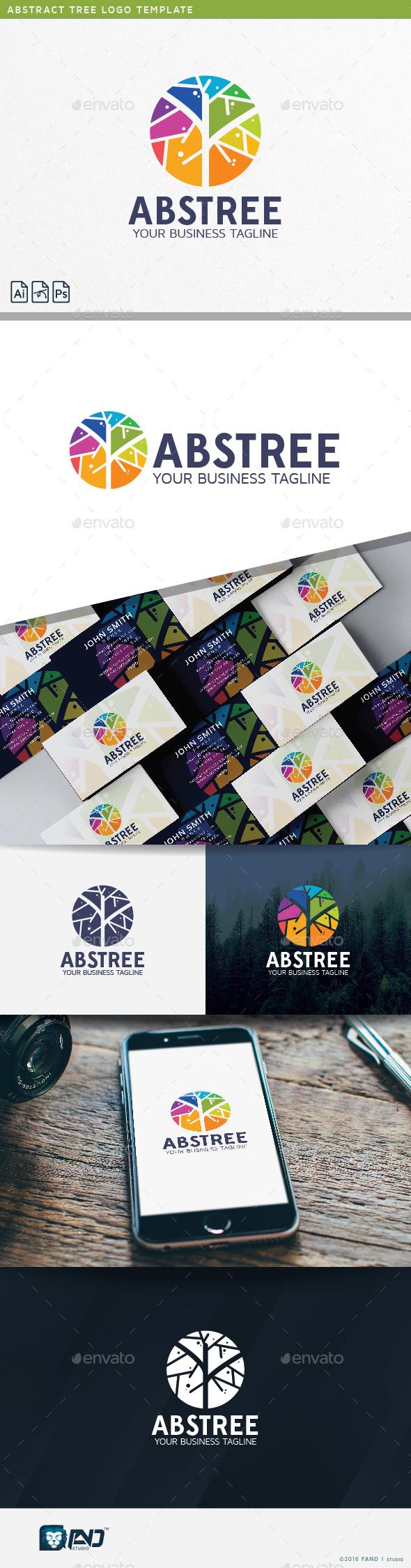 Abstract Tree Logo - Abstract Logo Templates