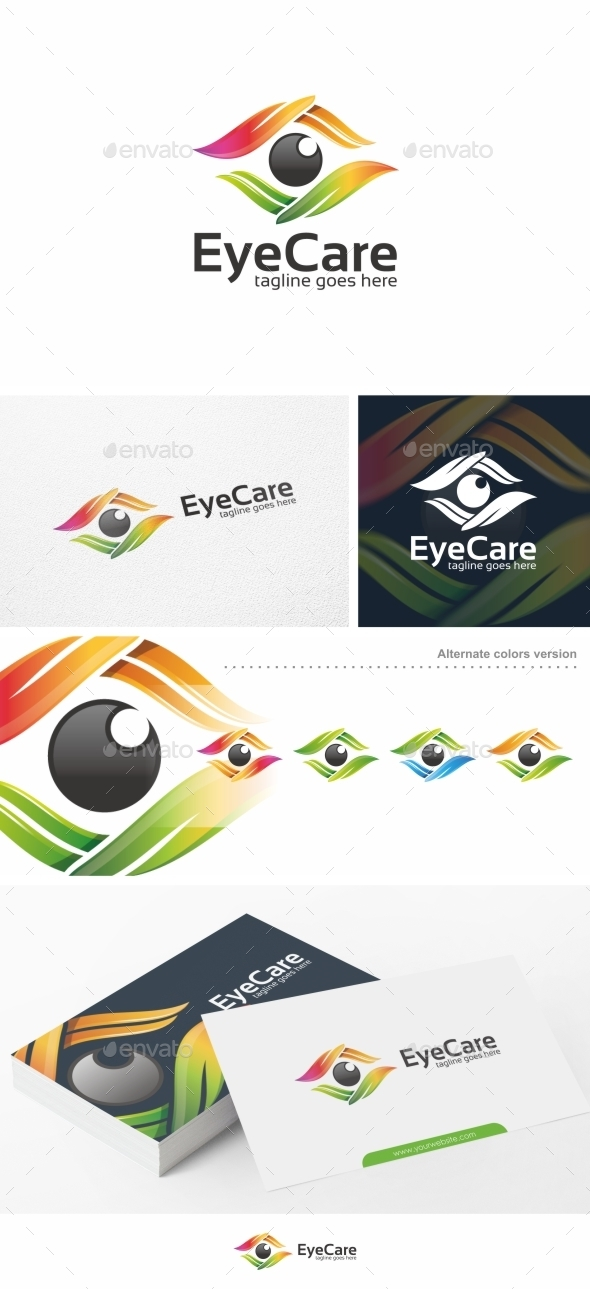 Eye Care - Logo Template - Symbols Logo Templates