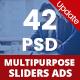 Multipurpose Sliders - 42 PSD