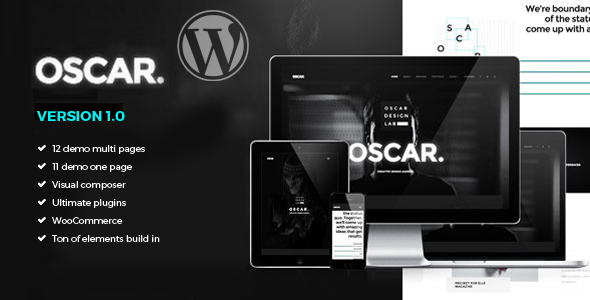 Oscar – Creative Multiuse WordPress Theme