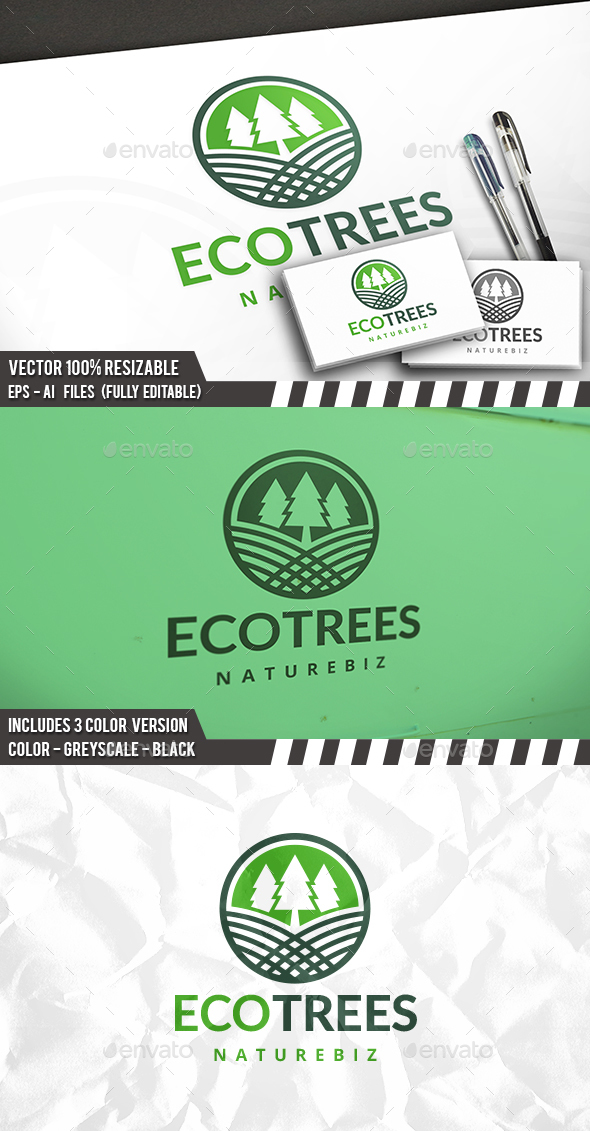 Green Forest Logo - Nature Logo Templates