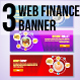 3 Web Finance Banner - GraphicRiver Item for Sale