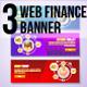 3 Web Finance Banner - GraphicRiver Item for Sale