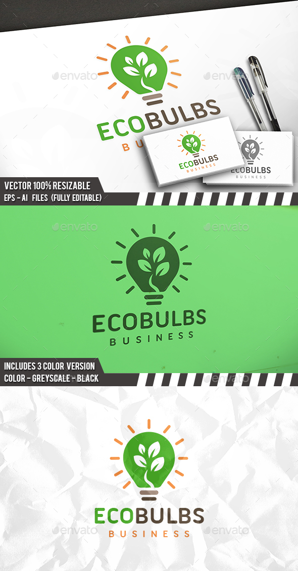 Green Idea Logo - Nature Logo Templates