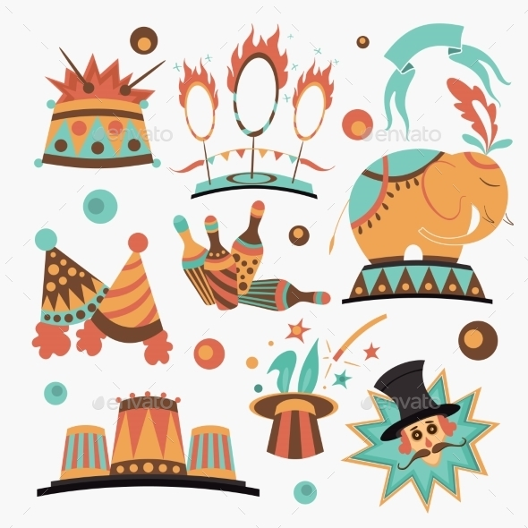 Circus Elements Collection - Miscellaneous Seasons/Holidays