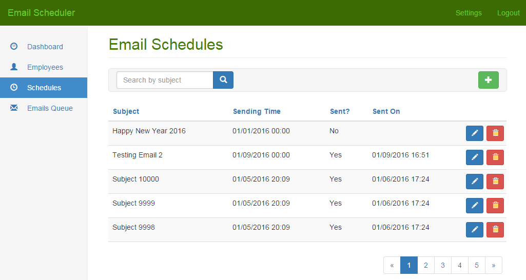 Email Scheduler and Bulk Email Sender by NajmulIqbal15 | CodeCanyon