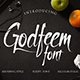 Godfeem Font - GraphicRiver Item for Sale