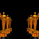 Rows Statues Oscar - VideoHive Item for Sale