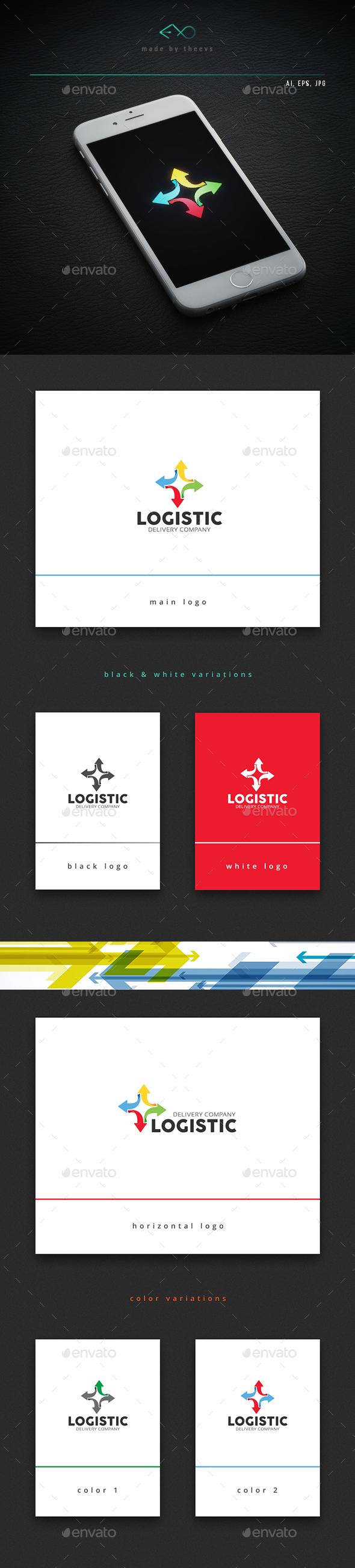 Logistic - Symbols Logo Templates