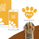 Pets Flat MockUp Device Kit - VideoHive Item for Sale